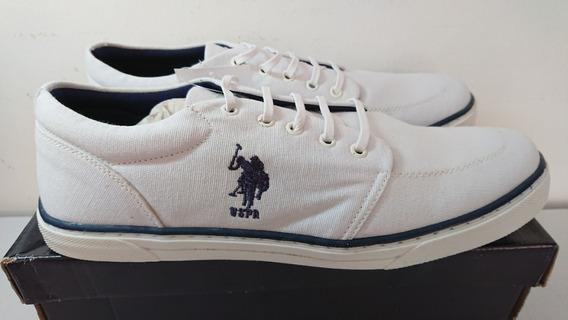 Tênis Us Polo Assn. Original - Tamanho 45 - Frete Grátis