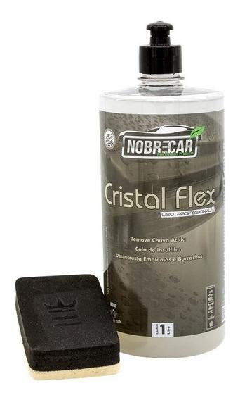 Cristal Flex Removedor De Chuva Acida Nobre Car 1l Lava Auto