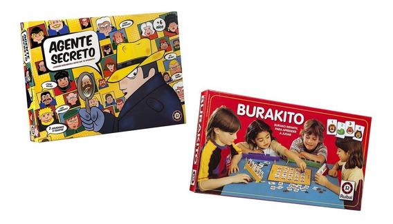 Juego Agente Secreto + Burakito Ruibal Promo 3 (+ 5 Años)