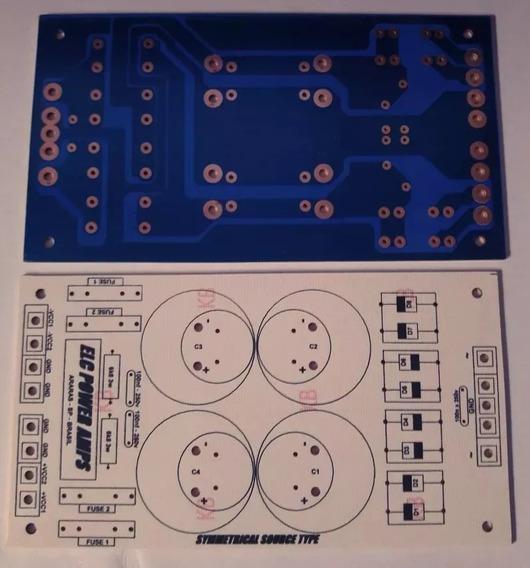 4 Placas Para Montar Fonte Simétrica 2 Canais