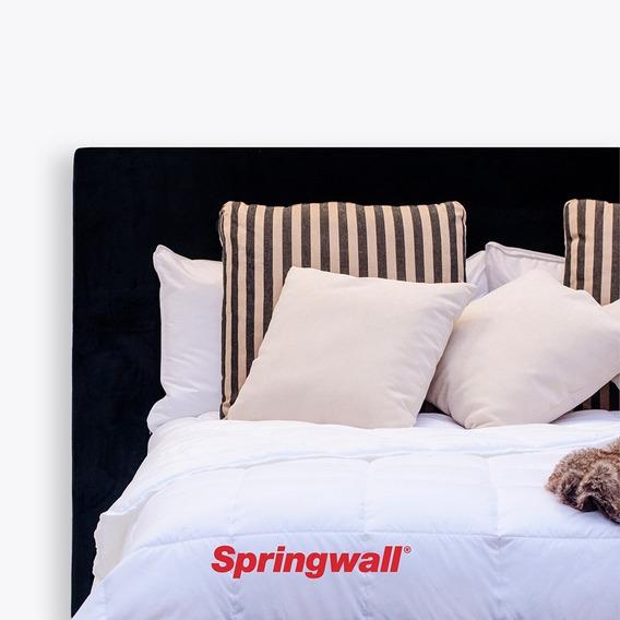 Acolchado Edredon Duvet Springwall Simil Plumon King