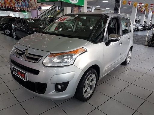 C3 Picasso Exclusive 2015 1.6 Flex Automatico