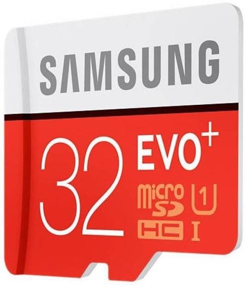 Cartão De Memória Samsung Evo Plus 32gb Sdhc-i U1