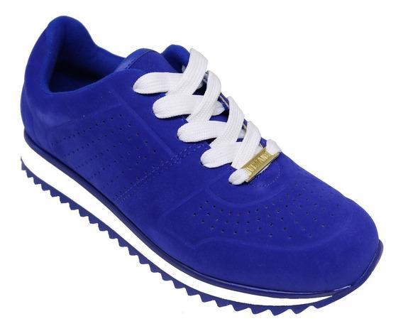 Tênis Feminino Jogging Vizzano Azul Vermelho Preto 1234.125