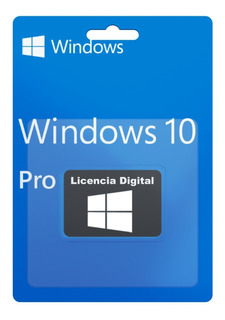 Licencia Original Windows 10 Pro 32/64 Bits Sticker