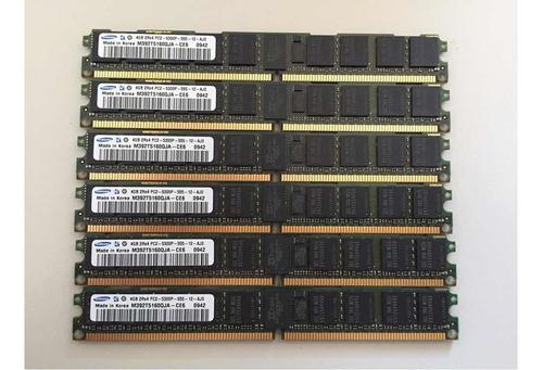 Imagem 1 de 1 de Memória Samsung 4gb Pc2 - 5300p - 555 - Ecc Servidor