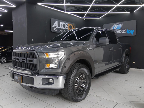 Ford F150 3.5cc A/a 4x4 A/t Pick Up Doble Cabina 2016