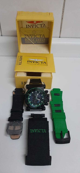 Relógio Invicta Coalition Forces 51mm Original +3 Pulseiras