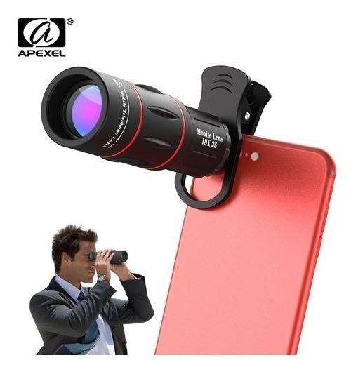 Super Lente Zoom Hd 18x25 Monocular Hd Zoom Óptico Apexel