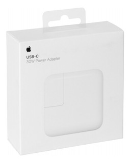 Cargador Apple Original Usb Type C 30w Con Pd iPhone iPad. Power Adapter - Fast Charging