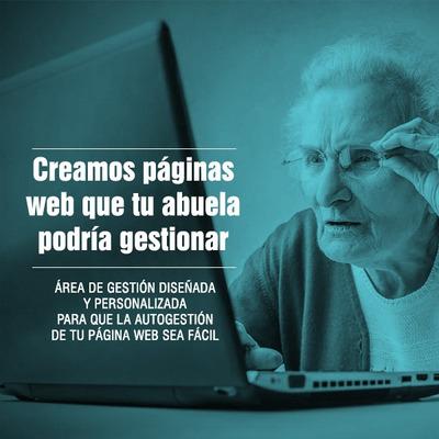 Diseño De Paginas Web Autogestionables Y Tiendas Online