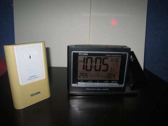 Reloj Despertador Con Proyector