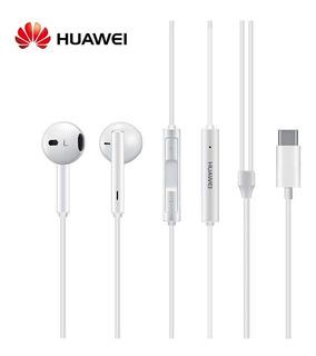 Audifonos Manos Libres Huawei Cm33 Conector Type C P20 Lite