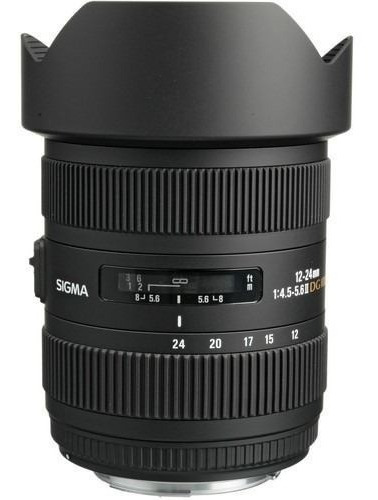 Lente Objetiva 12-24mm Sigma Para Nikon F / 4.5-5.6 Dg Fx