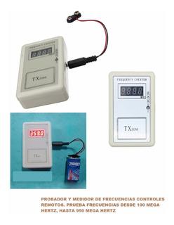 Probador Y Medidor Frecuencia Control Remotos Todo Tipo