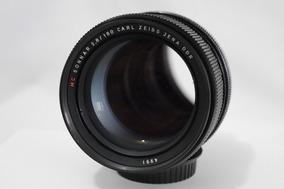 Lente Carl Zeiss Jena Mc Sonnar 180 Mm F 2.8 Eos Ef Canon