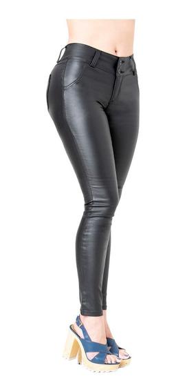 Pantalones Colombianos De Mujer Tipo Cuero Lowla Ccs2b0719