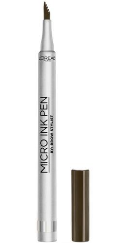 Imagen 1 de 1 de Delineador De Cejas Brow Stylist Micro Pen Loreal Paris