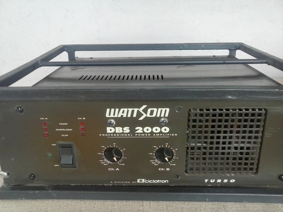 Potencia Wattsom Dbs 2000