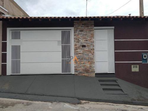 Imagem 1 de 14 de Casa Com 2 Dormitórios À Venda, 56 M² Por R$ 300.000,00 - Vila Industrial - Rio Claro/sp - Ca0428