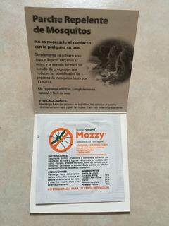 Parches Mozzy Repelente De Mosquitos Paquete De 100 Piezas