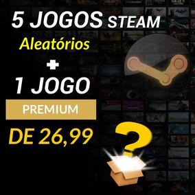 5 Jogos Steam + 1 Jogo Premium De 26,99 - Key Aleatórias Pc