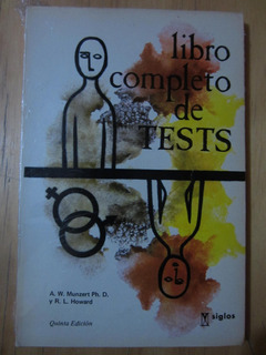 Libro Completo De Tests - A. W. Munzert Y R. L. Howard