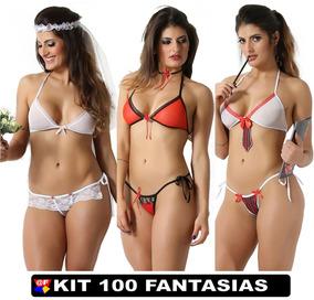 Lingerie Atacado Moda Intima Fabrica Kit Com 100 Uni Sexy