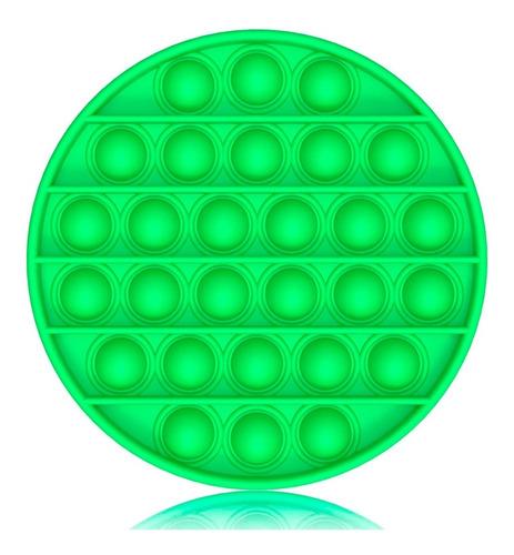 Imagen 1 de 1 de Pop It Circular Juguete Sensorial Antiestrés Silicona Tiktok