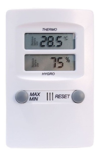 Imagem 1 de 5 de Termo-higrômetro Alemão -10c +60:0,1c 10-99:1%ur Incoterm