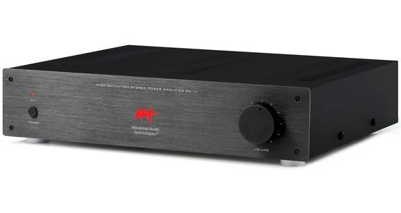 Aat Pm-1v Amplificador Integrado 2x 70wrms 4ohms Bi Volt Nf