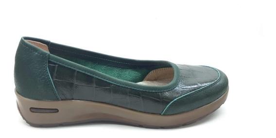 Chatitas Zapatos De Cuero Vacuno Confort Mujer