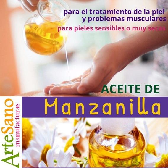 Aceites Cosméticos De Coco, Manzanilla Y Romero