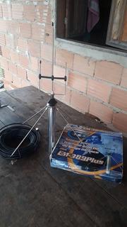 Antena De Celular Longo Alcance Eco Mania Em-389 Plus