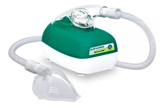 Nebulizador ultrassônico Soniclear Pulmoclear verde e branco 110V/220V