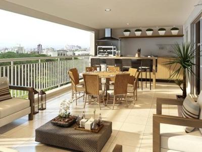 Apartamento Em Santo Amaro, 130², 4 Dorms, 2 Vagas, Piscina, Academia, Quadro Poliesportiva - Ap2225