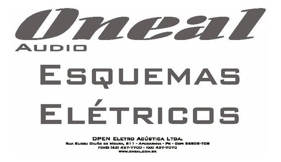 Opb 5050 Oneal Esquema Eletrico,diagrama Opb5050