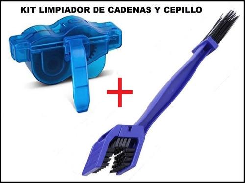 Kit Accesorios De Bicicleta Limpiador De Cadenas Y Cepillo