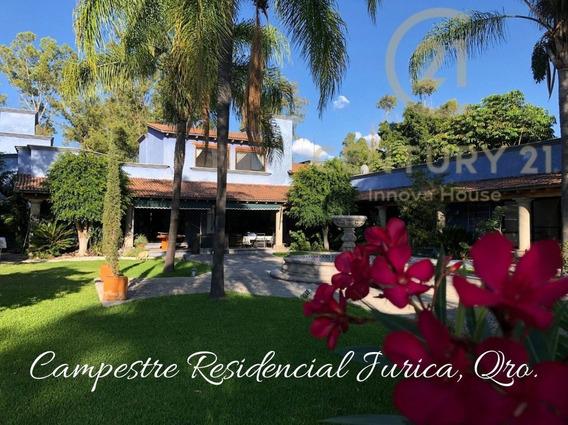 ¡hermosa Residencia En Venta En Jurica, Querétaro!
