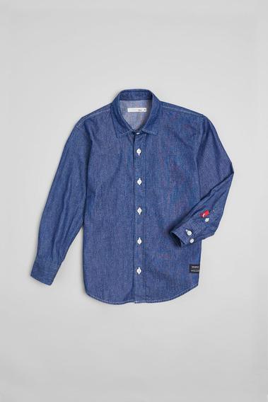 Camisa Mini Pf Jeans Ubatuba Reserva Mini