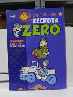 Gibi Hq Livro De Ouro Do Recruta Zero Nº 4 Mort Walker