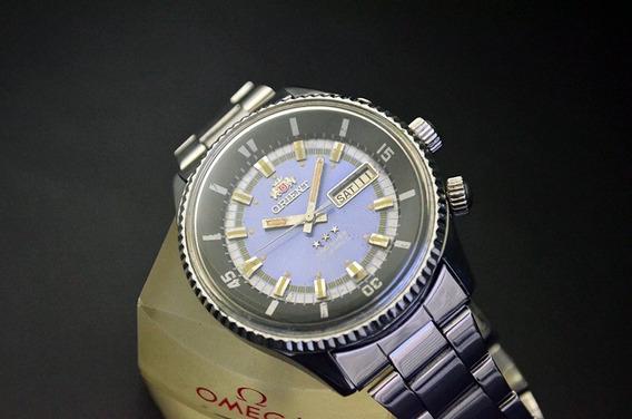 Orient King Diver Blue Dial Lindo Modelo Antigo- Um Clássico