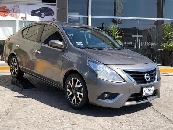 Nissan Versa Exclusive 2016 1.6 Sedán Automático A Credito