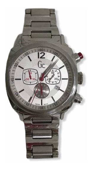 Relógio Masculino Prateado Guess Original Usado