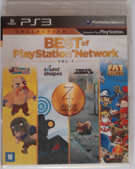 Best Of Playstation Network Ps3 Mídia Física