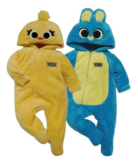 Kit 2 Mamelucos Disney Ducky Y Bunny