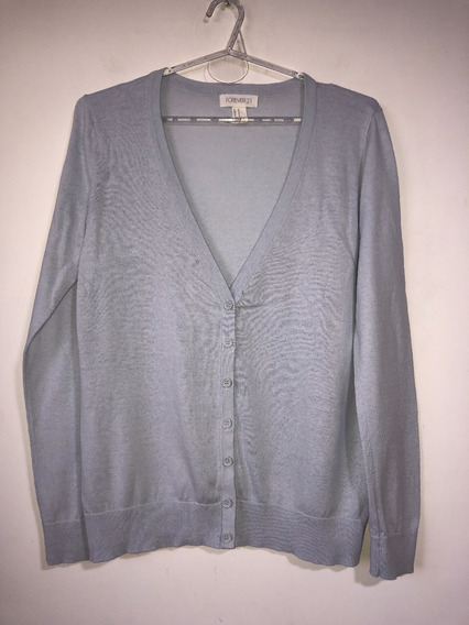 Cardigan Saquito De Mujer Marca Forever 21 Talle M