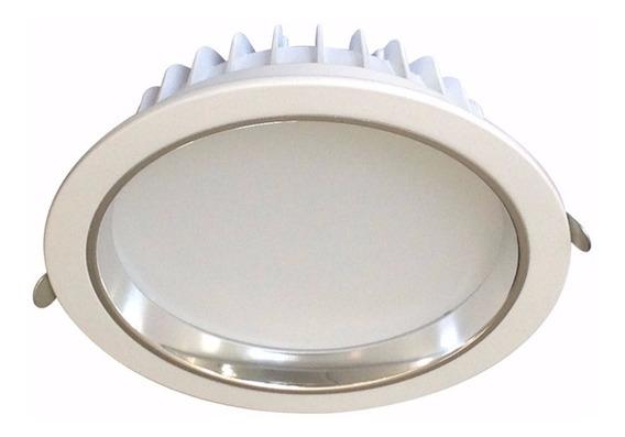 Luminária Led Downlight Embutir Redonda - 15w 6000k Bivolt