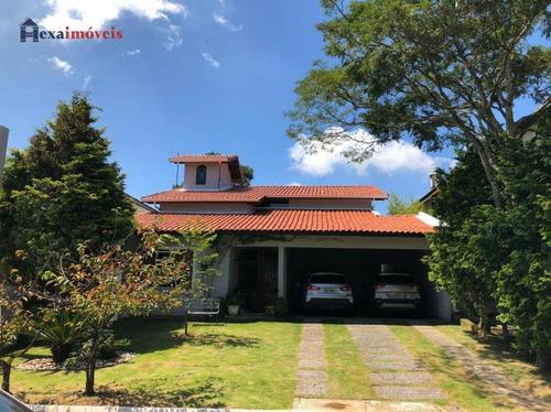 Casa Com 4 Dormitórios À Venda, 280 M² Por R$ 1.500.000,00 - Morada Dos Pinheiros (aldeia Da Serra) - Santana De Parnaíba/sp - Ca0570