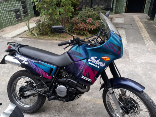 Imagem 1 de 6 de Honda Sahara Nx350